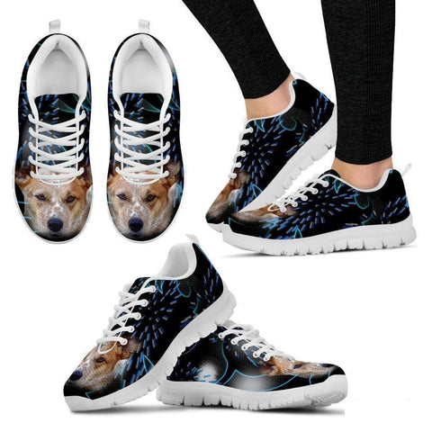 Australian Cattle Dog Print Running Shoe For Women- Free Shipping-Paww-Printz-Merchandise