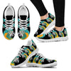 Blue-Threaded Macaw Running Shoes For Women-Free Shipping-Paww-Printz-Merchandise