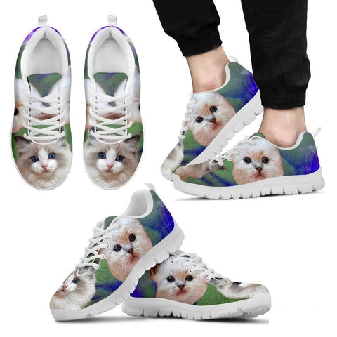 RagDoll Cat Print Running Shoes For Men-Free Shipping-Paww-Printz-Merchandise