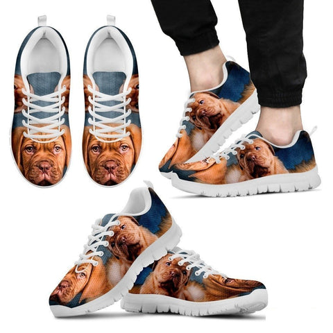 Bordeaux Mastiff (French Mastiff) Running Shoe For Men- Free Shipping-Paww-Printz-Merchandise