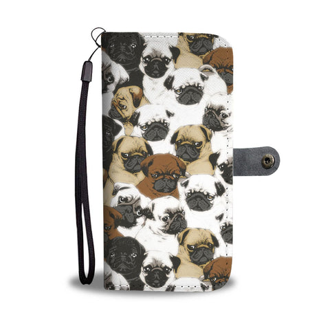 Awesome Pug Wallet Case-Free Shipping