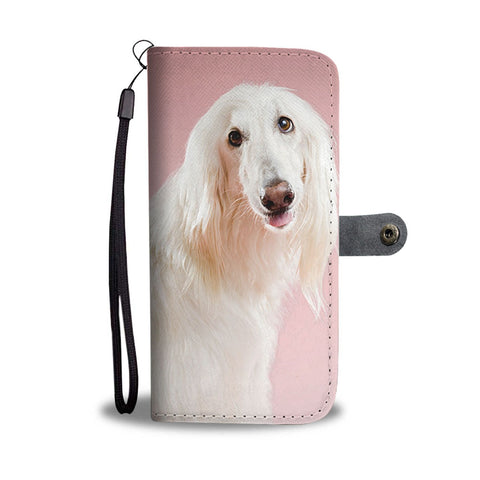 Afghan Hound Wallet Case- Free Shipping