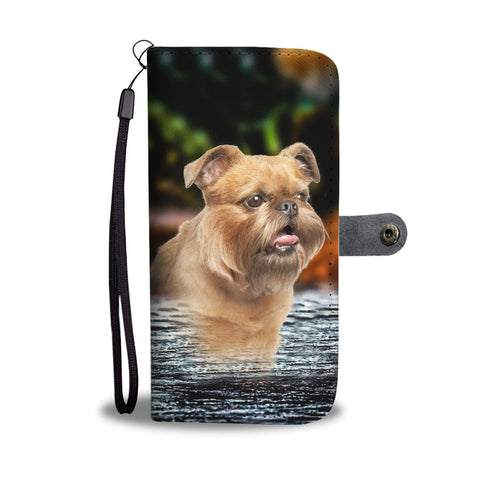 Brussels Griffon Print Wallet Case-Free Shipping