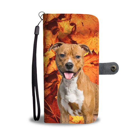 Staffordshire Terrier Wallet Case- Free Shipping