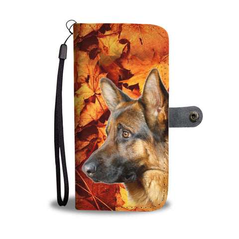 German Shepherd Wallet Case- Free Shipping
