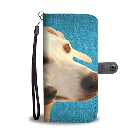 Amazing Sloughi Dog Pattern Print Wallet Case-Free Shipping
