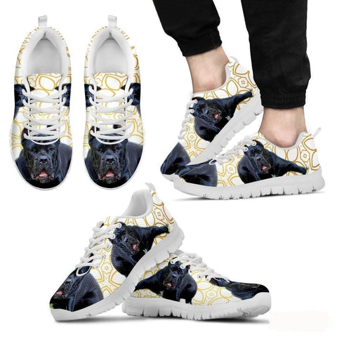 Cane Corso Dog Running Shoes For Men-Free Shipping-Paww-Printz-Merchandise