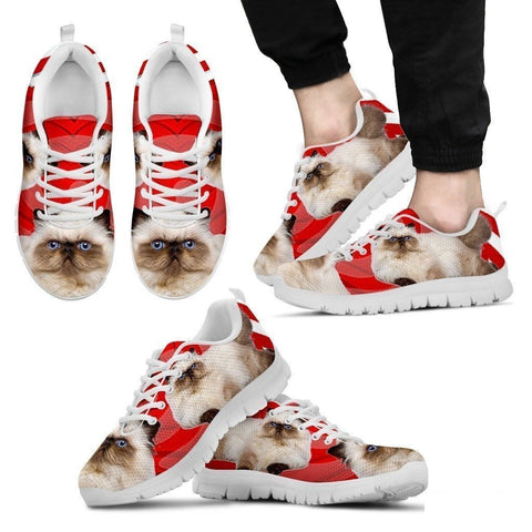 Himalayan Cat Print Running Shoes For Men-Free Shipping-Paww-Printz-Merchandise