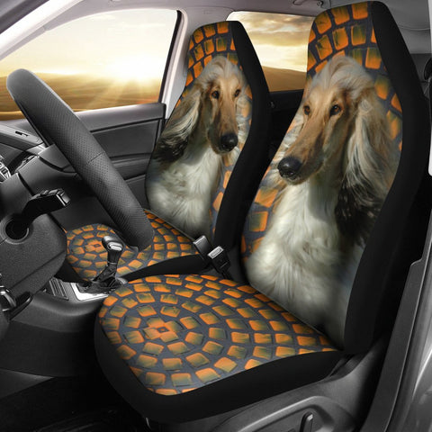 Afghan Hound Golden Print Car Seat Covers-Free Shipping