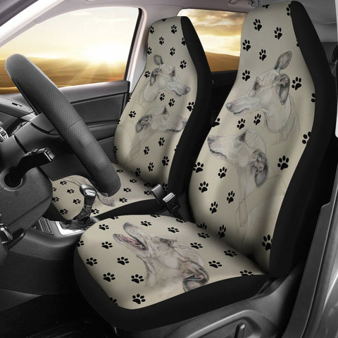 Whippet Paws Print Car Seat Covers-Free Shipping