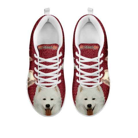 Amazing Samoyed Dog-Women's Running Shoes-Free Shipping-For 24 Hours Only-Paww-Printz-Merchandise
