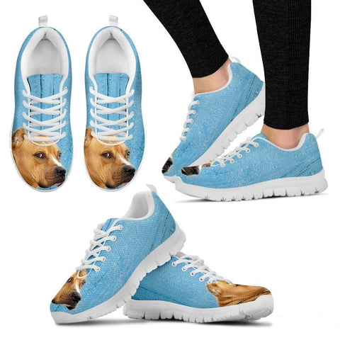 Pit Bull-Dog Running Shoes For Women-Free Shipping-Paww-Printz-Merchandise