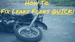 Quickest Way On How To Fix Leaky Fork Seals | Seal Mate