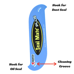 Seal Mate Plus new design breakdown new 2 hooks for both dust seal and oil seal and cleaning groove.