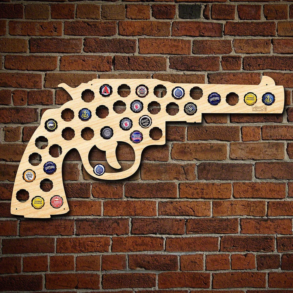 Bottle Cap Holder - Germany beer cap map