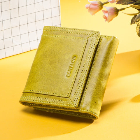 Small roomy women's wallet