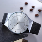 Slim watch for men - Plus Style