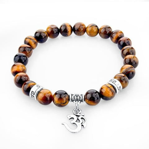 Ethnic Bracelet made of natural stones