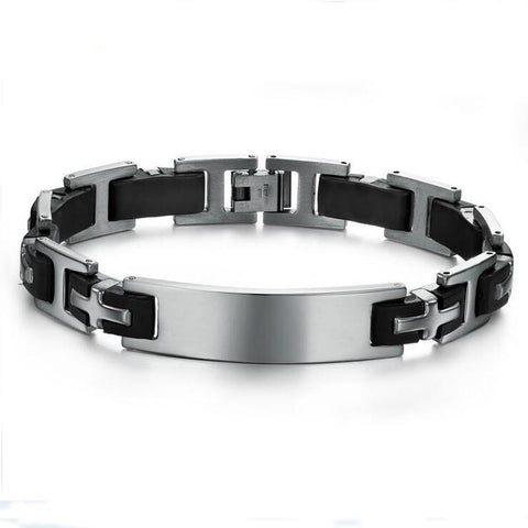 Stainless Steel Bracelet - Plus Style