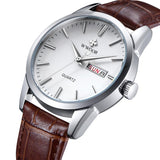 Daily quartz watch for men - Plus Style