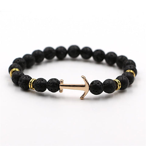Bracelet for men from natural stone - Plus Style