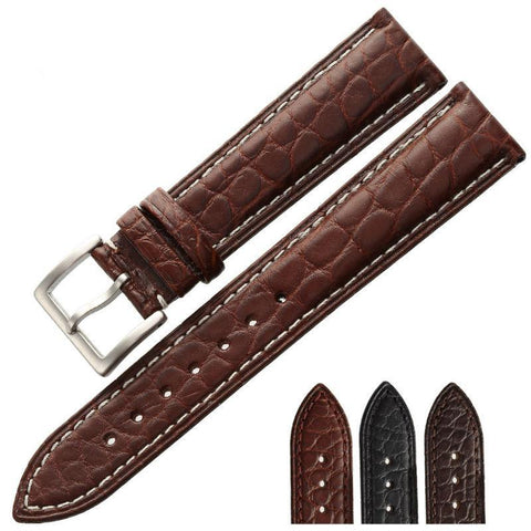 The straps are made of crocodile leather - Plus Style
