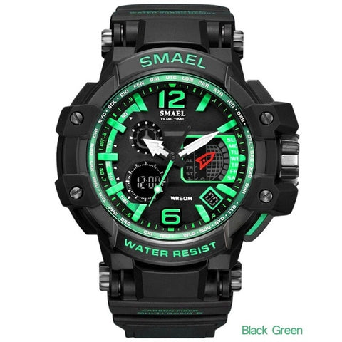 Quartz sports watch for men