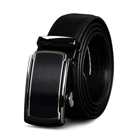 Classic business belt for men