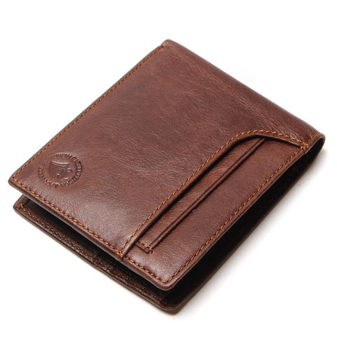 New stylish wallet for men, genuine leather - Plus Style