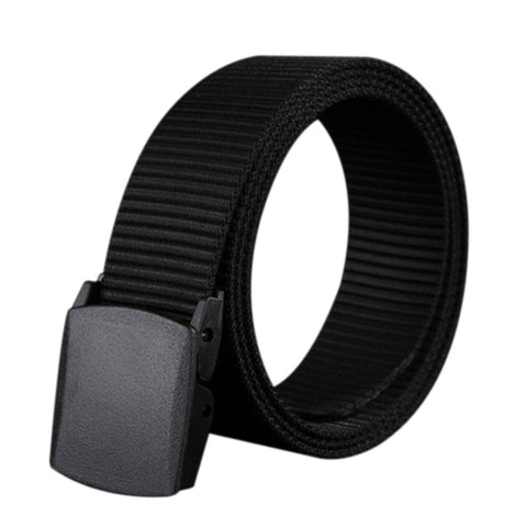 Fabric men's belt, under jeans