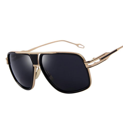 Large sunglasses in square style