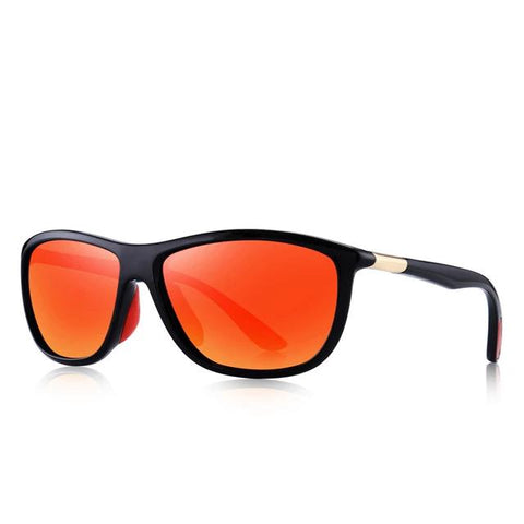 Polarized sunglasses in sporty style