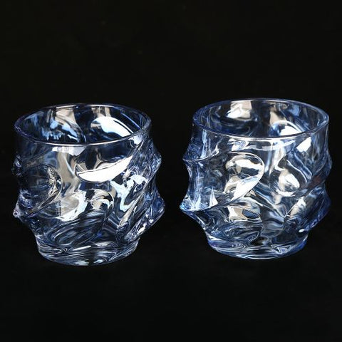 Blue Emperor - Whiskey Glass (Set of 2)