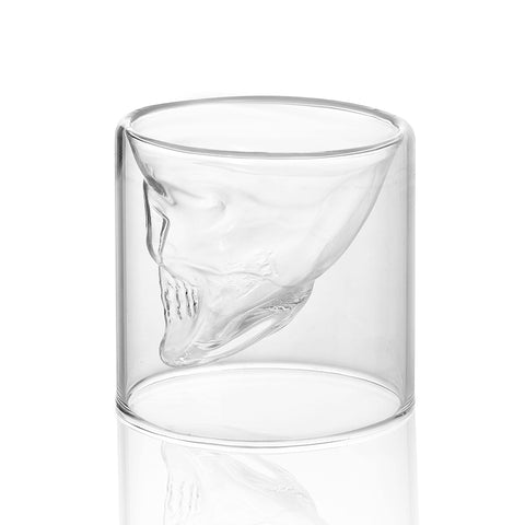 Skull - Whiskey Glass (Set of 2)