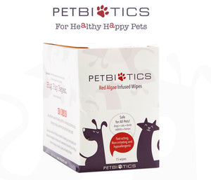 Pet-Biotics - Pet Wipes - 15 Pack