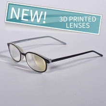 PowerReader black 6D plastic frame