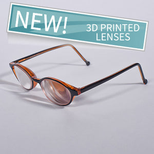 PowerReader brown 6D plastic frame
