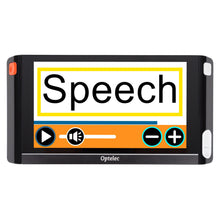 compact 6 hd speech displaying menu on screen