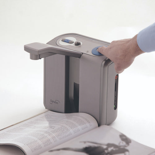 clear reader plus scanning magazine