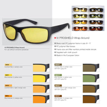 ImproVision ProShield Wrap-Around Blue Blocker Filtered Spectacles - Yellow (450)