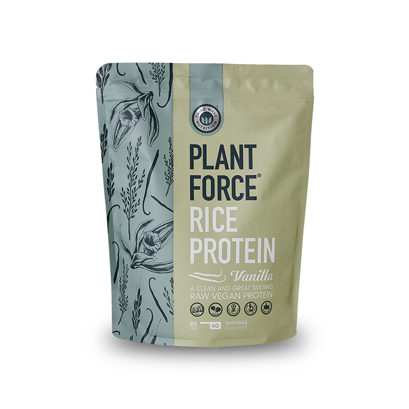 Plantforce® Rice Protein Vanilla