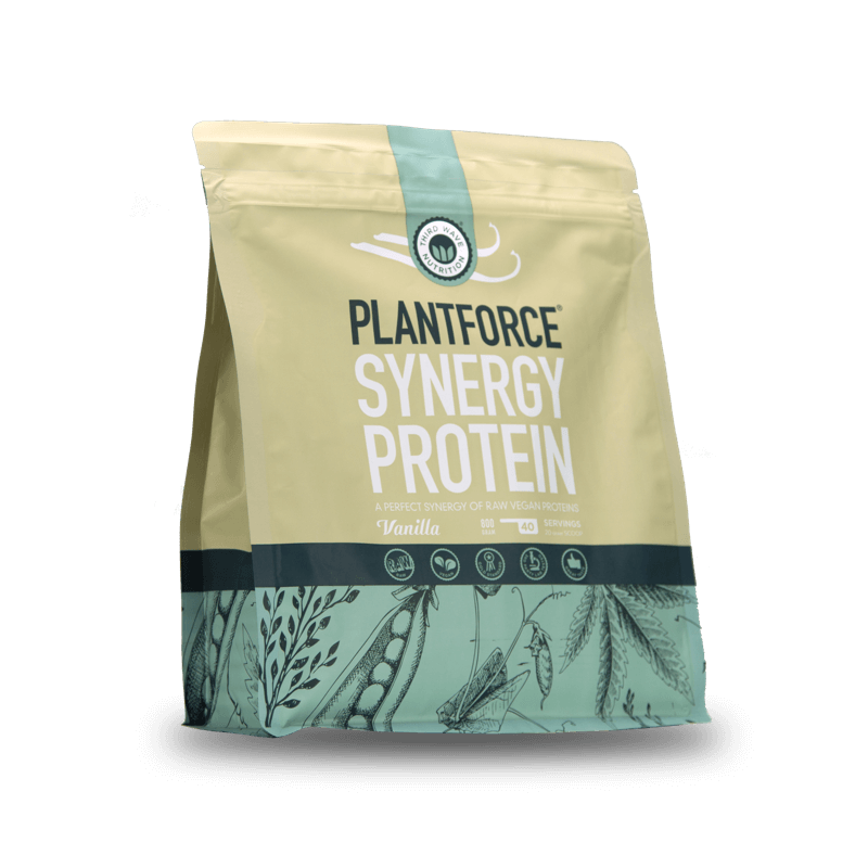 Natural Plant Based Protein Powder Vanilla
