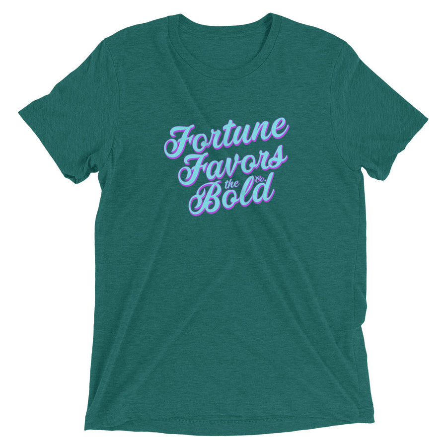 Flavorful Unisex Tee - Fortune Favors The Bold Co