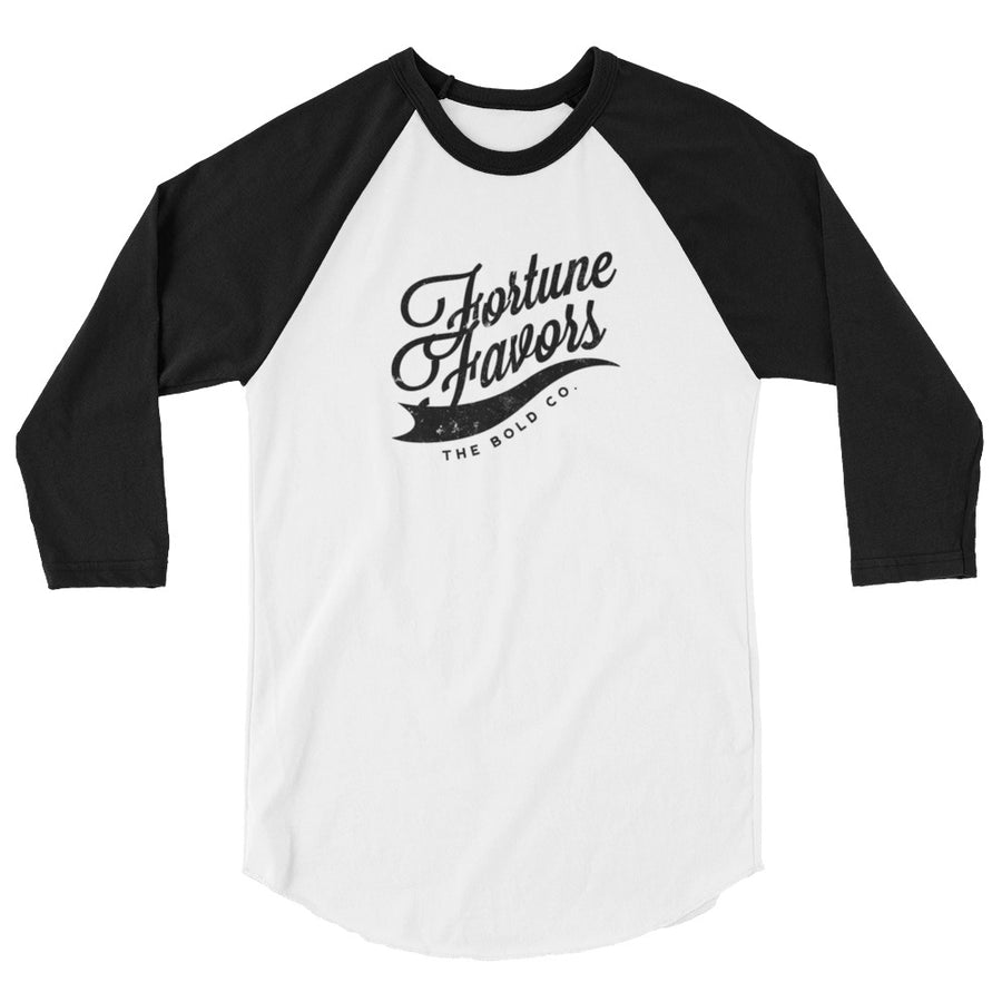 Fortune Baseball Tee - Fortune Favors The Bold Co