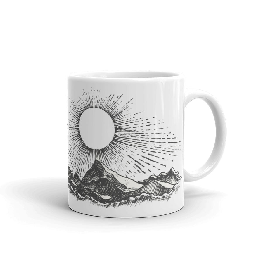 I'm a Fucking Light Beam Mug - Fortune Favors The Bold Co