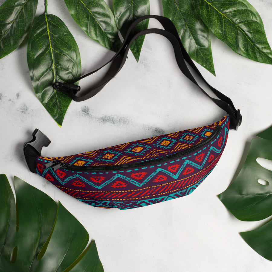 Colorful Fanny Pack - Fortune Favors The Bold Co