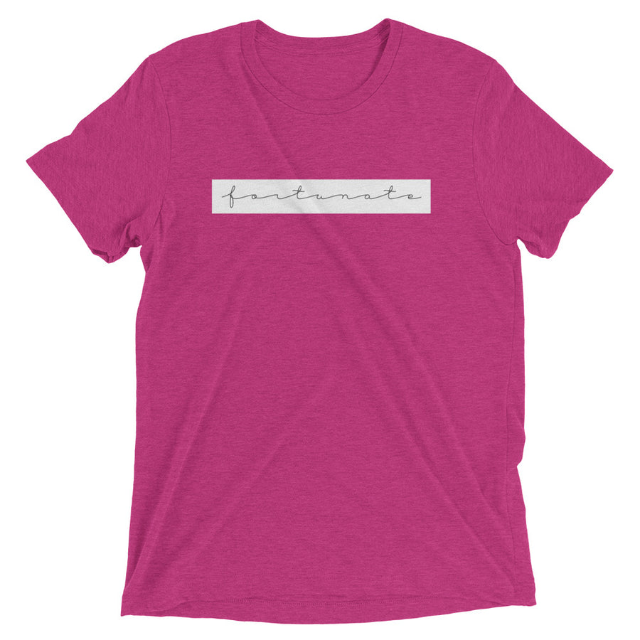 Fortunate Unisex T - Fortune Favors The Bold Co