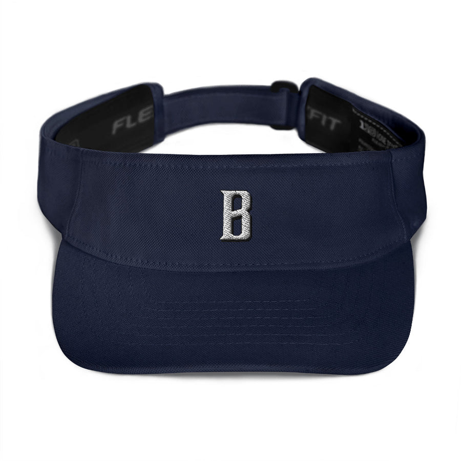 B Bold Visor Hat - Fortune Favors The Bold Co