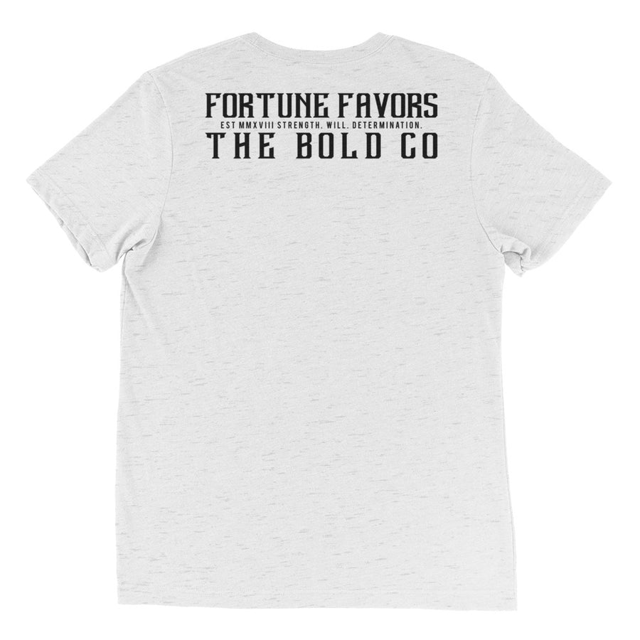 Tri-blend Tee - Fortune Favors The Bold Co