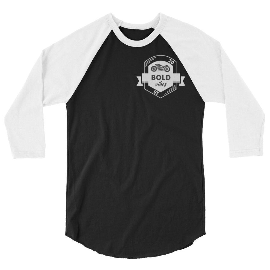 Motor Vibes Raglan - Fortune Favors The Bold Co
